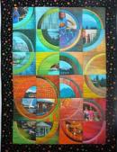 "This ""Trip to Mt. Shasta"" quilt is one of 10 works Piecing with Pixels authors and digital design quilters Gudny Campbell and Sandra Hart are sending for exhibit at the March 20-21 Great Lakes Seaway Trail Quilt Show in Sackets Harbor (www.seawaytrail.com)."