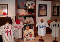 An extensive collection of baseball memorabilia will be on display for Johnny Podres Day in Moriah.