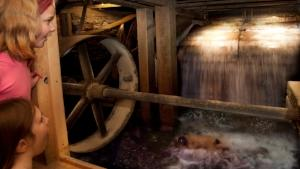 Hanford Mills Museum Water Wheel