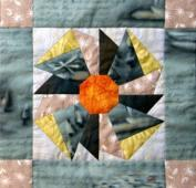 Award-winning quilter and designer Mary Knapp has designed six new quilt patterns, including this pinwheel, that will debut at the March 20-21, 2010 Great Lakes Seaway Trail Show in Sackets Harbor, NY.