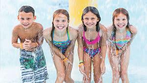 Children at Deep River Waterpark