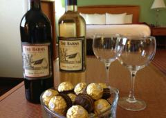 Comfort Suites Chocolate and Wine