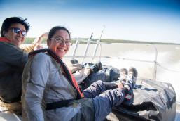 Boating adventure in Gilliam, Manitoba to the historic York Factory