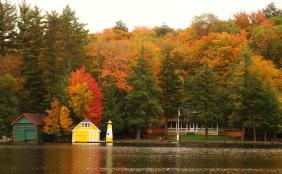 Old Forge in Autumn