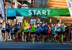 Marathon start line