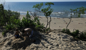 Camping At Indiana Dunes State Park