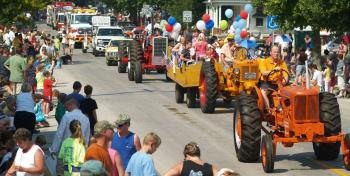 The largest parade in Hendricks County is held in North Salem this weekend during Old Fashion Days.