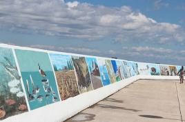 Gimli Art Club Sea Wall