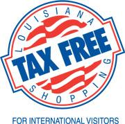 Louisiana Tax Free Shopping for International Visitors