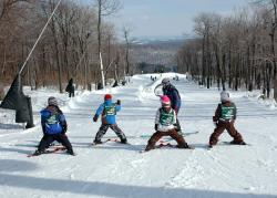 Ski Instruction at Seven Springs Arctic Blast in Laurel Highlands