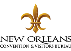 New Orleans CVB Logo Stack