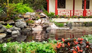 WMDesignScapes Water Feature Photo Courtesy Capital District Garden & Flower Show