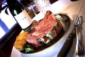 Walter's Steakhouse Prime Rib