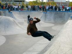Tony Hawk at The Forks Plaza