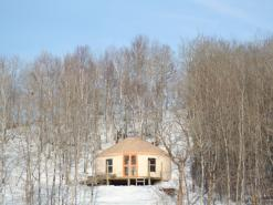 Rossman Yurts in the Winter