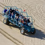 Oregon Dunes National Recreation Area, Dune Buggy Big Blue, Florence, by Todd Cooper