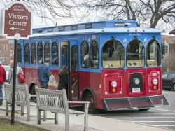 Patriots Day Trolley Lexington