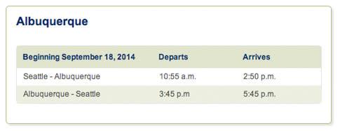 AlaskaAirlinesSchedule