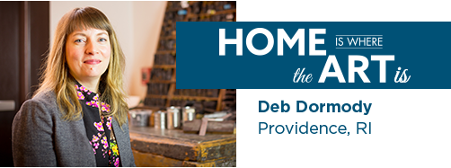 Deb Dormody Home is Where the Art Is