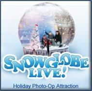 Snap a Holiday Photo in SnowGlobe Live!