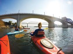 Kayaking the TN River