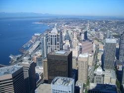 View from Columbia Tower in Seattle