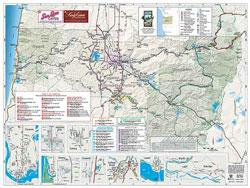 Eugene, Cascades & Coast Visitor Map