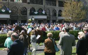 Keeneland Race Course Paddock, Lexington