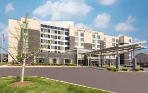 Exterior Hyatt Place Lexington