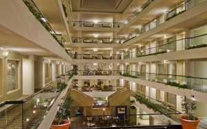 inside atrium view
