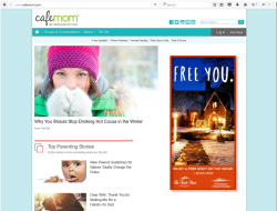 2017 Winter Marketing Campaign - Online - Cafemom.com - The French Manor Inn & Spa