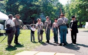 Civil War Reenactment Weekend at Robert Moses State Park