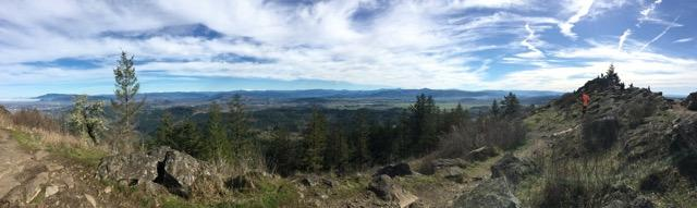 View from Spencer Butte by Jessica Shefferman
