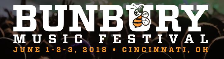 Bunbury music festival June 1, 2, 3, 2018
