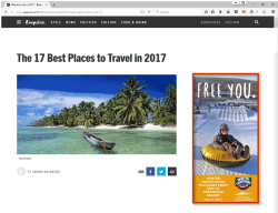 2017 Winter Marketing Campaign - Online - Esquire.com - Fernwood Resort