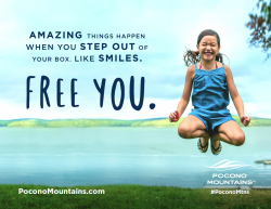 2017 Summer Marketing Campaign - Transit - Pocono Mountains Visitors Bureau
