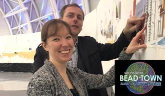 Jennifer Rush - Bead Town exhibit