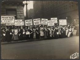 Workhouse History: Women Sufferagists