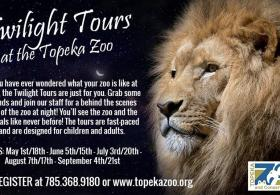 Twilight Tours at the Topeka Zoo