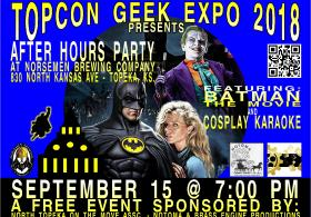 TopCon Geek Expo 2018 After Party