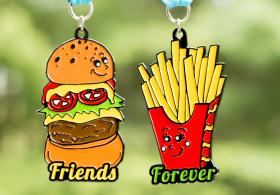 FRIENDS FOREVER 5K 2018 – YOU ARE THE BURGER TO MY FRIES- Virtual