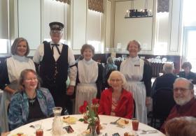 Community Harvey House Luncheon