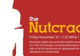 Nutcracker Mini-Performance at Kansas Children's Discovery Center