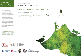 Kansas Ballet Presents: Peter and The Wolf