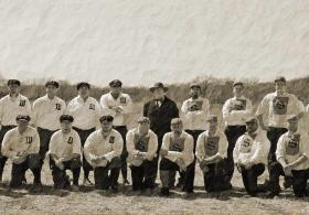 Topeka Westerns Vintage Baseball Game