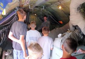 Young Aviators Education Classes at Combat Air Museum