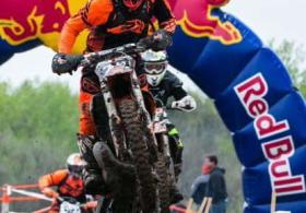Off-Road Motorcycle Race at Heartland Park