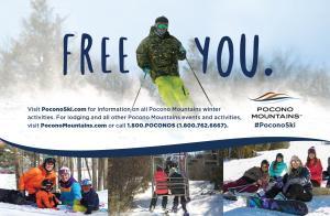 Pocono Mountains 2016-17 Ski and Ride Card