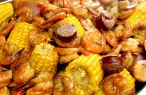 Seafood boil from Cape Fear Boil Company