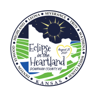Solar Eclipse Logo Doniphan County
